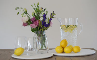 Lemon water and the importance for good skin health